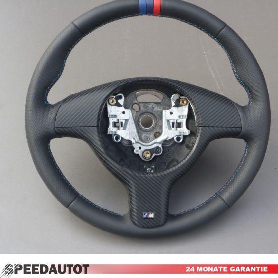 Lederlenkrad Bmw E46 E39 Z3 M Lenkrad Mit Blende Lenkrad Lederbezug