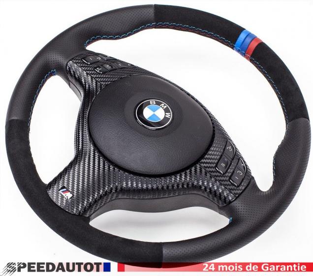 Alcantara volant BMW e46 e39 M volant et l/'ouverture